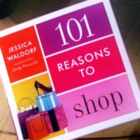 Book Review:  101 Reasons to Shop by Jessica Waldorf