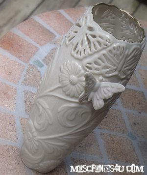 My new Lenox Butterfly Vase