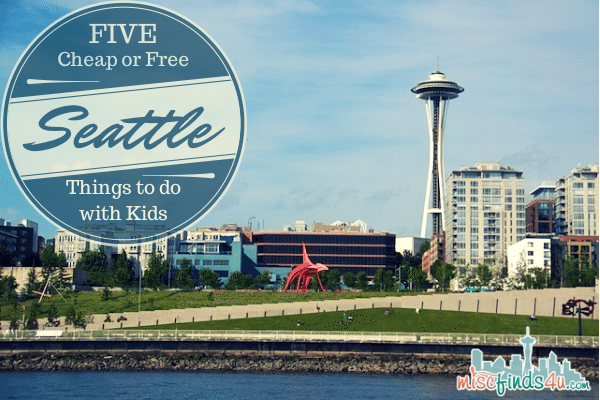 5 Free or Cheap Things to Do with Kids in Downtown Seattle