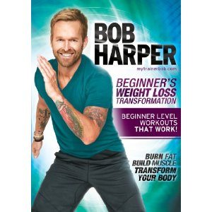 Bob Harper Beginnig Exercise Weightloss DVD