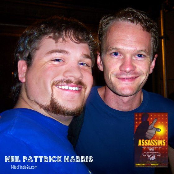 Neil Patrick Harris after the show Assassins on Broadway