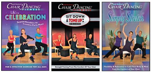 Chair Dancing low-impact exercises for seniors, disabled, children, and more
