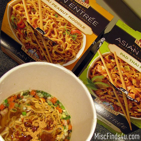 Dr McDougall's Right Foods New Asian Entrees