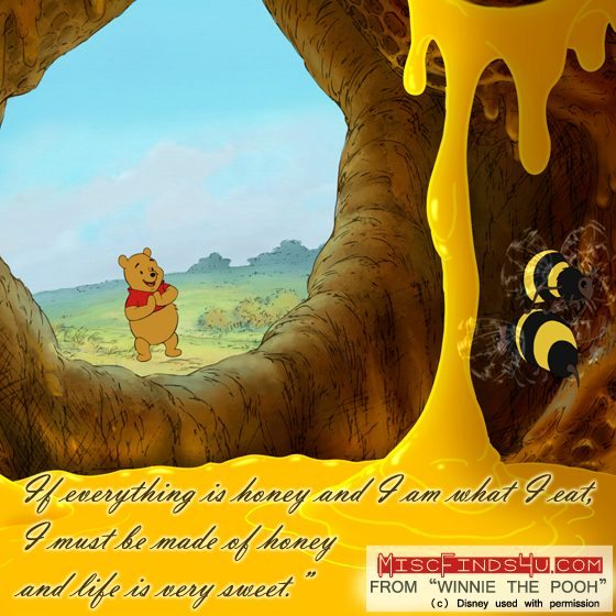 Winnie the Pooh Movie Quotes and Art