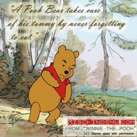 Winnie the Pooh Movie Quotes - Tummy