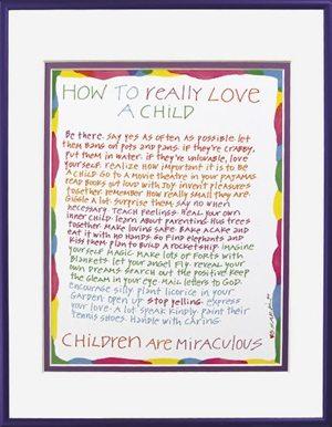 Sark Parenting Poster