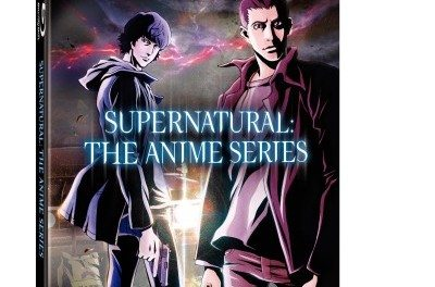 Supernatural: The Anime Series Available on DVD/Blu-Ray