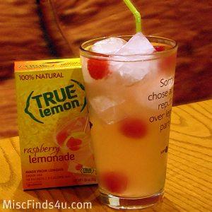 True Lemon Raspberry Lemonade