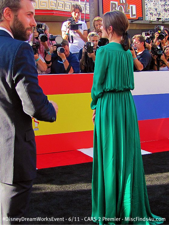 "Emily Mortimer and her husband Alessandro Nivola at the ""Cars 2"" Red Carpet Premier"