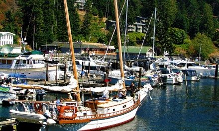 Photo of the Day:  Rosario Resort Marina – Orcas Island, Washington