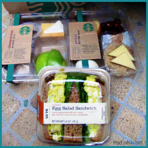 Starbucks Fresh Bistro Boxes