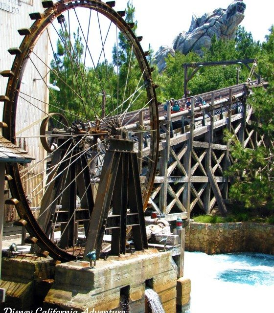 Photo of the Day:  Disney's California Adventure Grizzly River Rapids