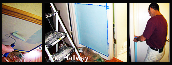 Hallway painting completed