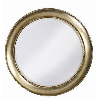 Simple and elegant large round bathroom vanity mirror