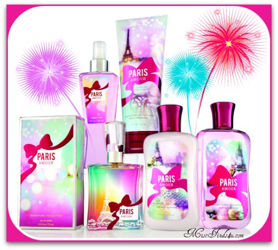 Bath and Body Works Debuts Paris Amour Collection