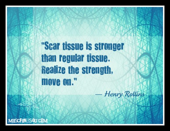 Henry Rollins Scar Tissue Quote