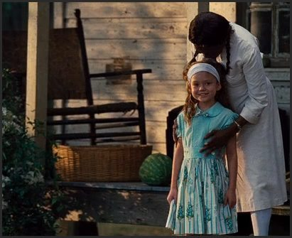 "Cicely Tyson and young Skeeter in ""The Help"""