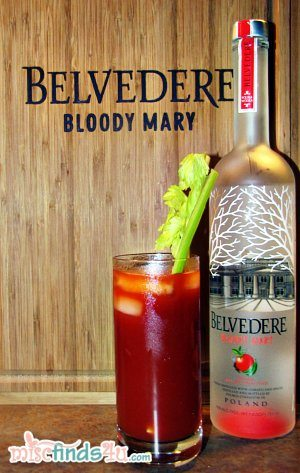Belvedere Bloody Mary Vodka Taste Test