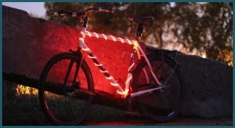BikeGlow Safety Light for Bicycles