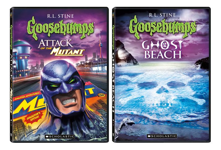 Two New Goosebumps DVD Released Today in time for Halloween