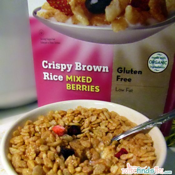 Erewhon Crispy Brown Rice with Mixed Berries Cereal