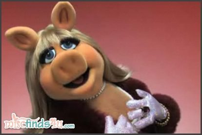 The fabulous Miss Piggy