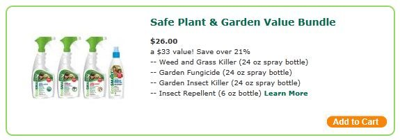 EcoSMART Organic Plant and Garden Spray Value Bundle