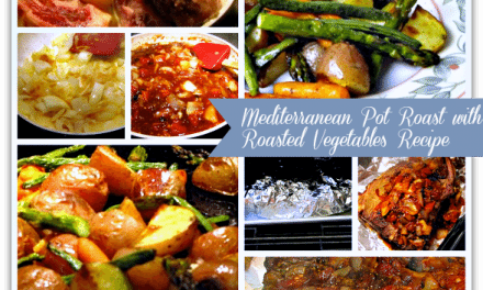 Mediterranean Pot Roast with Roasted Vegetables Recipe