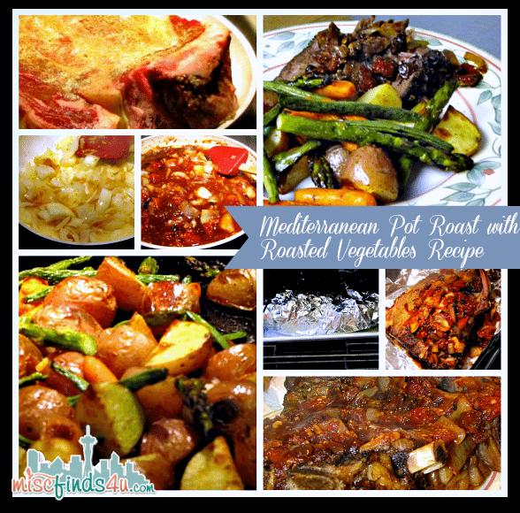 Mediterranean Pot Roast with Roasted Vegetables Recipe