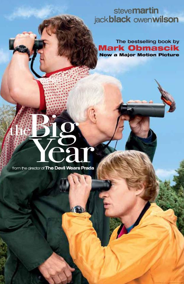 New cover for The Big Year - Movie-tie-in cover