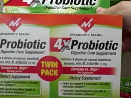 Sam's Club Member's Mark 4x Probiotic Review