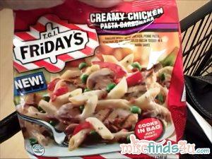 TGI Friday's Creamy Chicken Pasta Carbonara Review