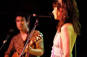 She & Him @ Mercy Lounge in Nashville, TN