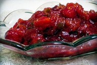 Cranberry Jalapeño Persimmon Chutney