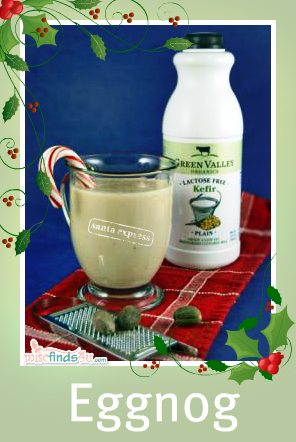 Recipe:  Organic and Lactose-free Holiday Eggnog