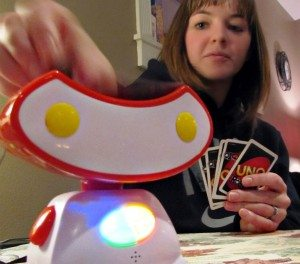 Review:  We Loved Uno Roboto House Rules! {Gift Guide}