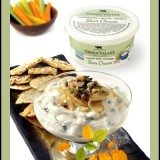 Homemade Onion and Sourcream Dip for Vegetables and Crackers