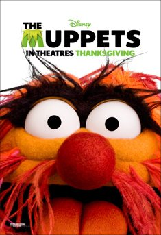 The Muppets Movie Animal Poster