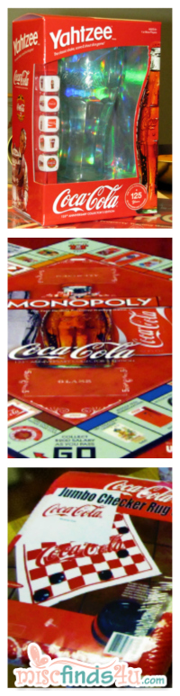 Coke-themed Board Games for the Whole Family