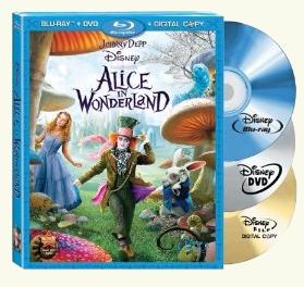 Win Disney's Alice in Wonderland DVD & Blu-ray set