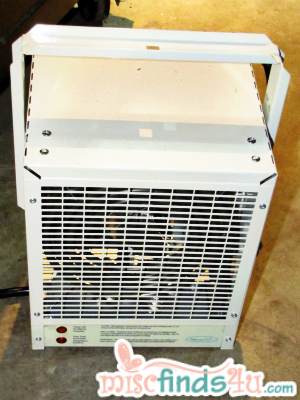 NewAir G70 Electric Garage Heater - front