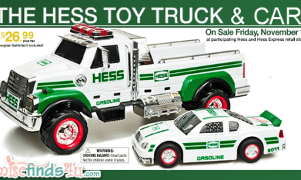 2011 Hess Toys Truck and Car Available 11/11/11 {Gift Guide}