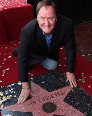 Director John Lasseter Hollywood Walk of Fame Award Ceremony
