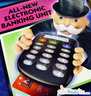 2011 Family Gift Pick - Monopoly Electronic Banking Edition