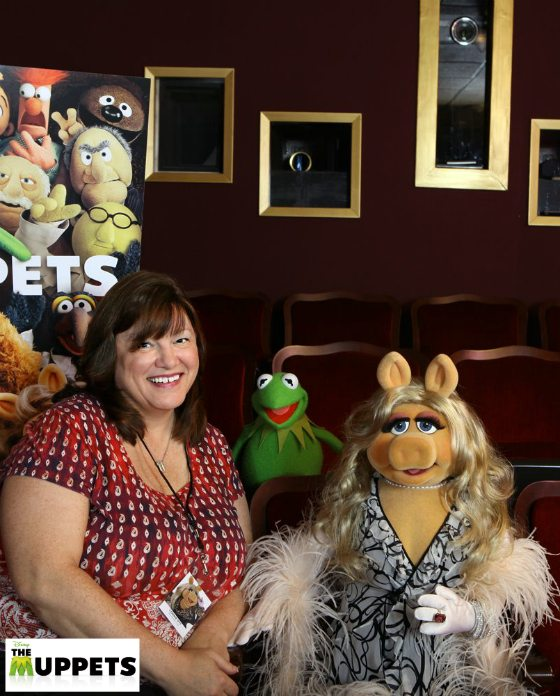 Me with Kermit & Miss Piggy on the Jim Henson Studio Lot in LA