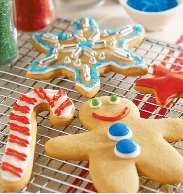 Hershey Peanut Butter Gingerbread Cookies Recipe (Photo Credit:  Publications International - used with permission)