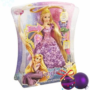 Disney Mattel Rapunzel Holiday Doll 2011