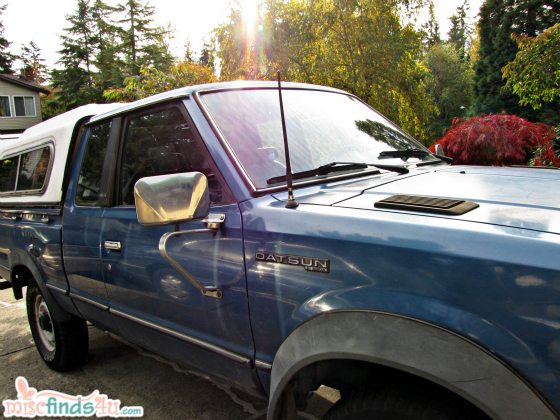 Caring for My 1982 Datsun 4x4 King Cab Pickup Truck