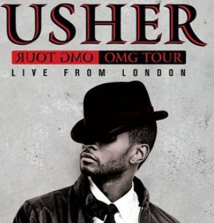 Usher's OMG Tour Live from London on DVD and Blu-Ray