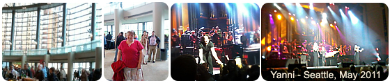Yanni in Seattle May 2011 - Benaroya Hall